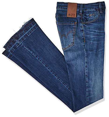 Calça Jeans Boot Cut, Feminino, Indigo, 36