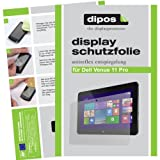 dipos I Schutzfolie matt kompatibel mit Dell Venue 11 Pro Folie Bildschirmschutzfolie