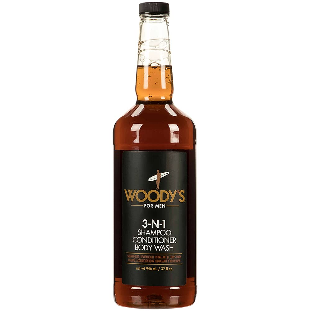 Woody's 3-in-1 Shampoo Conditioner and Multipurpose Body Free shipping Max 52% OFF New Wash