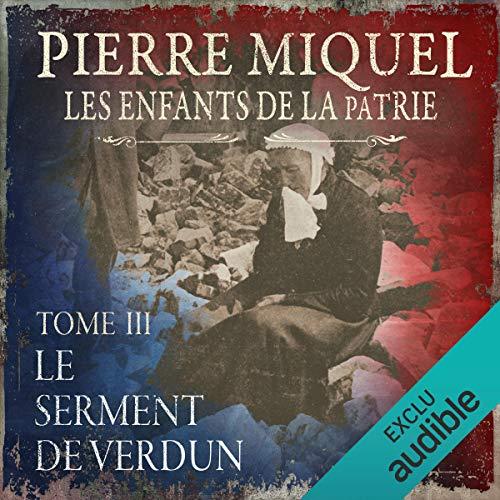 Le serment de Verdun audiobook cover art