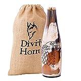 Divit Autentico Corno Vichingo Boccale - 700 ml (Bottle, Fenrir)...