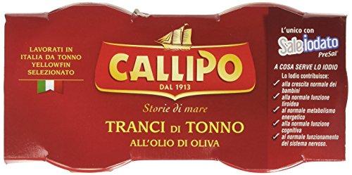 Giacinto Callipo Callipo Tonno all'Olio di Oliva, Vetro - 6 pezzi da 80 g [480 g]