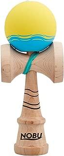 Kendama USA Nobu Nori Pro Model - #NOBUMOD - Sticky Silk Paint, Maplewood Ken, Custom Stickers