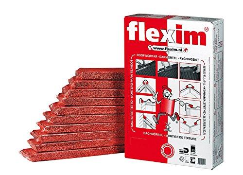 Flexim Dachmörtel 10 Streifen für First, Grat und Kehle (grau)