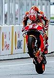 Desconocido Póster de Gran Premio Marc Marquez para Honda Moto 2018 (A3-A4-A5), A5