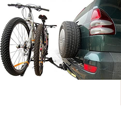 HXXXIN Soporte De Bicicleta para Automóvil SUV Montado En La Parte Trasera Remolque Plegable para Automóvil con Boca Cuadrada Estante para Cola De Automóvil Bastidor Trasero Solo