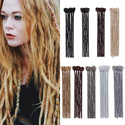 12' Braids Extensions Dreadlocks Extension Kunsthaar Crochet Braids Afro Zöpfe Synthetik Braiding Haar 5 Bündel 25g/Packung 30cm # Kastanienbraun