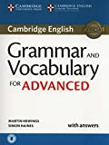 Grammar and Vocabulary for Advanced Book with Answers and Audio (Cambridge Grammar for Exams) - artin Hewings