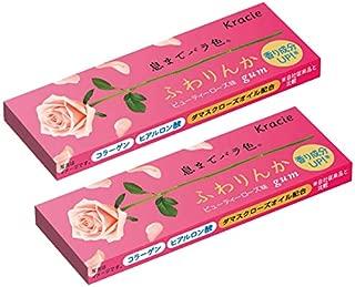 Japanese Fuwarinka Kracie Beauty Rose Gum (Pack of 2)