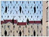 Artopweb EC40193 Magritte - Golconde, Holz, Bunt, 80 x 1.8 x 60 cm -