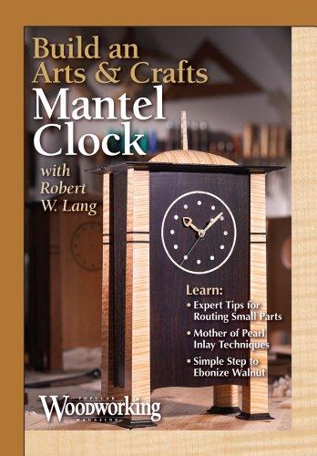 Build an Arts & Crafts Mantel Clock