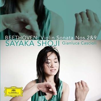 Beethoven: Violin Sonata Nos. 2 & 9