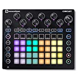 Novation Circuit Groove Box with Sample Import: 2-Part Synth, 4-Part Drum Machine and Sequencer,...