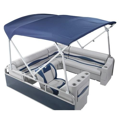 DeckMate Heavy Duty Pontoon Boat Tops (8'W x 8' L Pontoon Bimini)