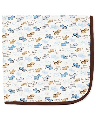 Little Me Baby Boys' Blanket, Cute Puppies, One Size