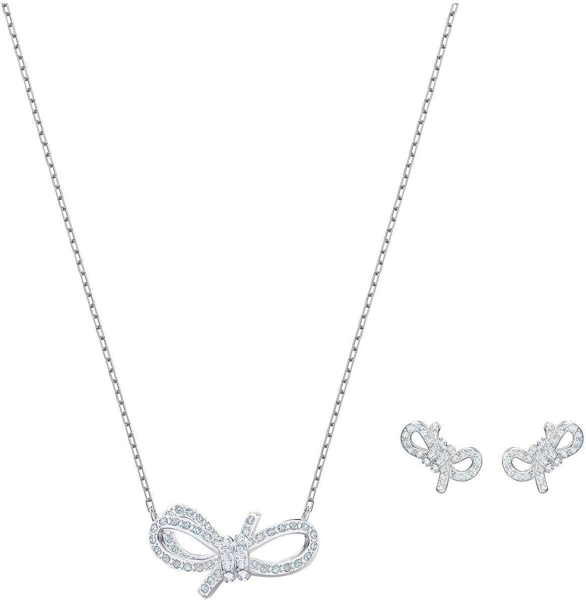 Swarovski Lifelong Bow Set, White 5470594