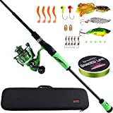 Sougayilang Ultralight Fishing Rod Reel...