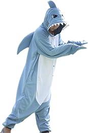 Animal Requin Pyjamas Unisexe Costumes Cosplay pou