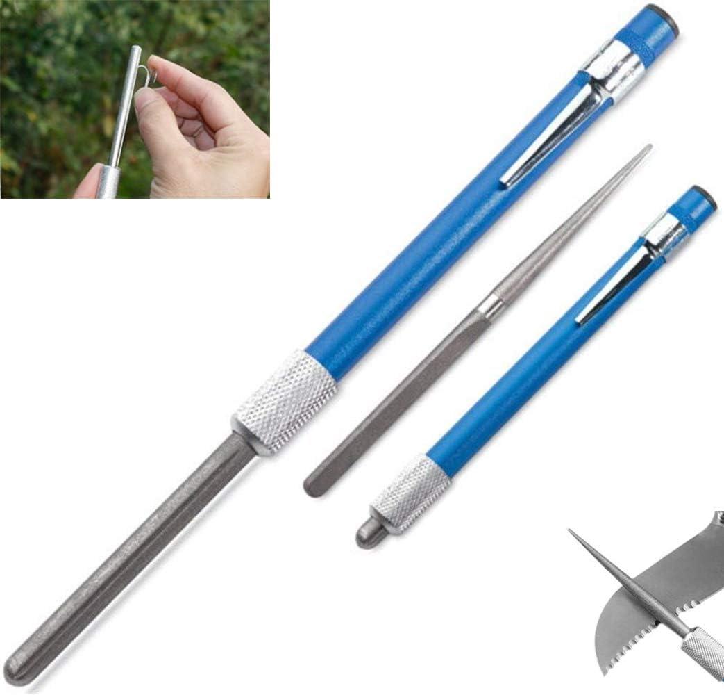 quality assurance Max 46% OFF Golden^Li Knife Sharpener Pen 3 S Retractable Pocket 1 in