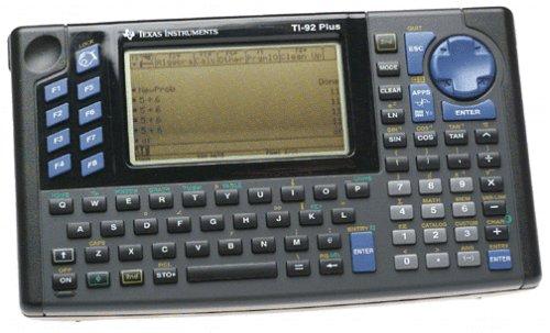CalculatRICE GRAPHIQUE TI-92 PLUS