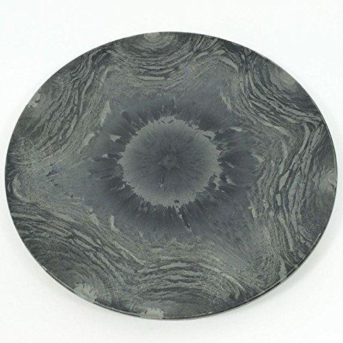 Annastore Deko-Teller in Schiefer-Optik Ø 22 cm