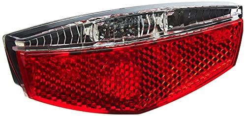 Büchel LED Gepäckträgerrücklicht Tivoli mit Standlichtfunktion, dynamobetrieben, StVZO zugelassen