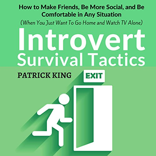 Introvert Survival Tactics audiobook cover art