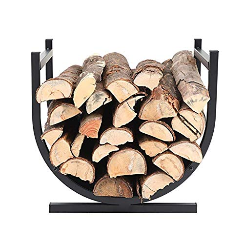 Check Out This Firewood Racks MYL Indoor/Outdoor Firewood Log Rack Holder with Scrolls, Fireplace Wo...