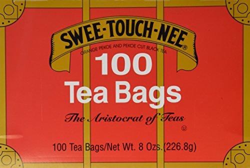 Sweet Touch Nee Orange Pekoe & Pekoe Cut Black Tea Bags, 100 ct, 2 pk