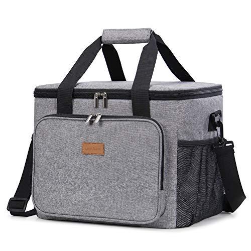 Lifewit Kühltasche Gross Thermotasche Cooler Bag Einkaufstasche Kühlbox Thermo Tasche Lunchtasche Picknicktasche isoliert faltbar für Lebensmitteltransport,25L