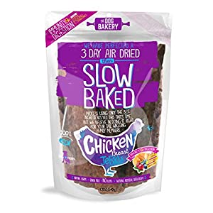 Chicken Jerky Dog Treats – Made in The USA, Human Grade, Natural, Immunity & Digestion