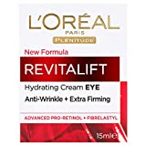 L'Oréal Paris Revitalift Anti-Ageing Eye Cream, Reduces Bags and Dark Circles, with Pro