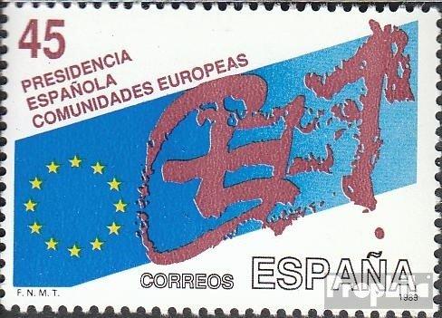 Prophila Collection Spagna Michel.-No..: 2887 (Completa Edizione) 1989 Comunità Europea (Francobolli per i Collezionisti)
