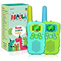 2-Pack Hlaola Walkie Talkies with Backlit LCD Flashlight