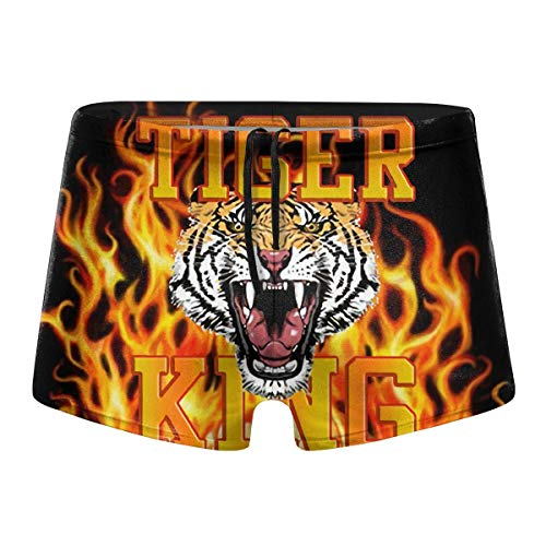 Joe Exotic Tiger King Badebekleidung Herren Badebekleidung Badehose Boxershorts Surfbrett Atmungsaktive schnelltrocknende Boxershorts