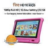 "Fire HD 10 Kids Tablet – 10.1"" 1080p full HD display, 32 GB, Pink Kid-Proof Case (2019 Release)"