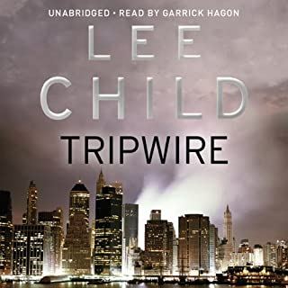 Tripwire     Jack Reacher 3              By:                                                                                                                                 Lee Child                               Narrated by:                                                                                                                                 Garrick Hagon                      Length: 15 hrs and 44 mins     1,377 ratings     Overall 4.4