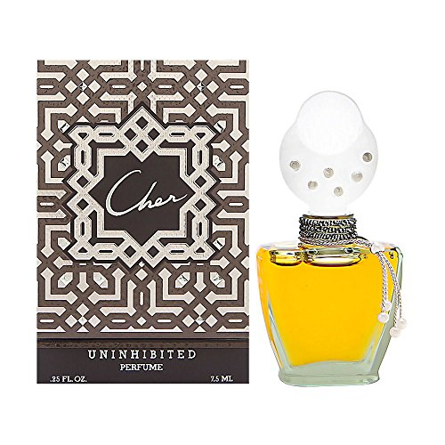 Uninhibited by Cher for Women 0.25 oz Parfum Classic Flacon (0.25 Ounce Pure Parfum)