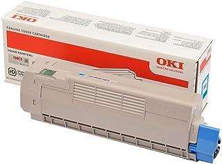 OKI 46507507 Cartuccia Toner Originale OKI, Ciano, Standard, 6000 pagine
