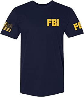 Law Enforcement - Police EMS FBI Fire Rescue Sheriff K-9 Unisex Two-Sided T-Shirt