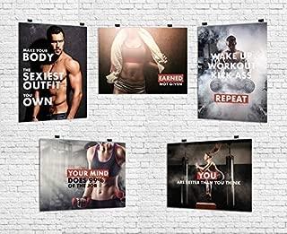 workout motivation poster pack