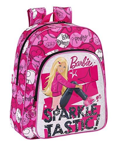 Barbie - Zaino Junior adattabile, 32 x 38 cm (SAFTA 611 510 640)