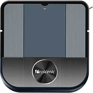 Proscenic 880L Robot Vacuum Cleaner, with WiFi Connectivity, Alexa Control, Smart Mapping, 1500Pa Max Suction, 120min Long Battery Life, Self-Charging, for Pet Hairs, Hard Floors and Carpets, Blue