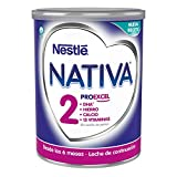 Nestlé NATIVA 2 Leche de continuación en polvo, fórmula Para bebés a partir de los 6 meses - 800 gr