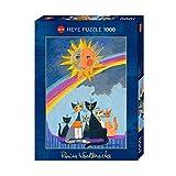 Heye HY29854 Puzzles-Wachtmeister Rosina, 1000 Pc-Gold Rain