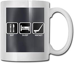 Eat Sleep Hockey Ceramic Coffee Cup Classic Ceramic Cup Ceramic Coffee Cup