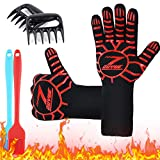 Best Barbecue Gloves - ZOUYUE BBQ Gloves Extreme Heat Resistant Gloves Review