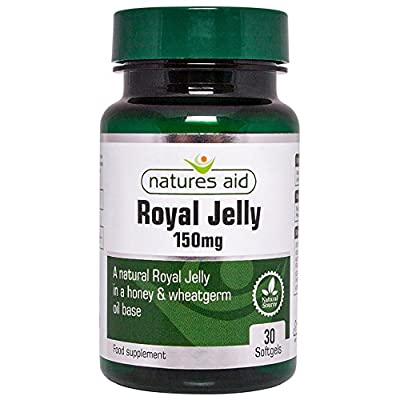 Natures Aid Royal Jelly 150mg - Pack of 30 Capsules