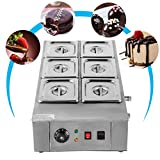 VEVOR Electric Chocolate Melting Pot Machine for Bakeries Cafes and Fountains 26.45lbs Capacity...