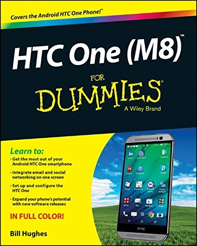 HTC One (M8) For Dummies by Bill Hughes (14-Nov-2014) Paperback